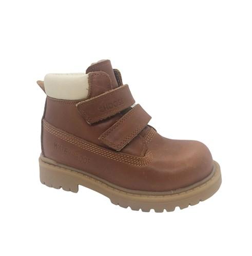 Ботинки для мальчика, цвет коричневый, на липучках - фото 11917