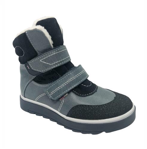Ботинки для девочки, цвет серый, на липучках - фото 4939