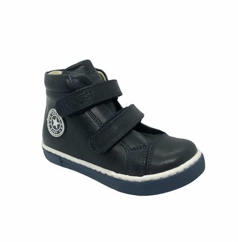 Ботинки-кеды демисезонные для мальчика, цвет синий, на липучках - фото 5810