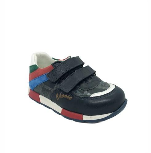 Кроссовки для мальчика, цвет синий, на липучках - фото 6024