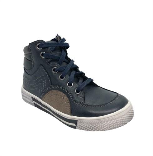 Кеды демисезонные, цвет синий, на шнурках - фото 7109