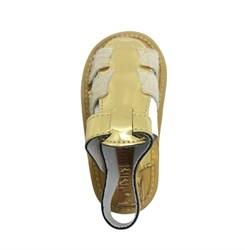 Пинетки-туфельки для девочки, золотистого цвета