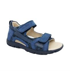 Сандалии для мальчика, цвет синий (камуфляж), на липучках