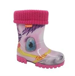 Резиновые сапоги для девочки, цвет светло-розовый