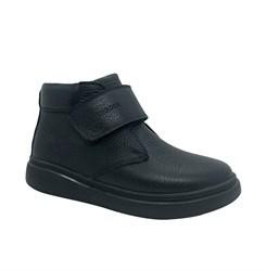 Ботинки для мальчика, цвет синий, на липучке