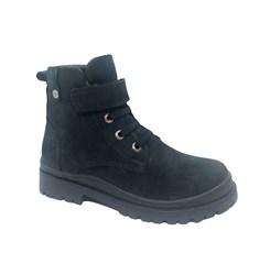 Ботинки для мальчика, цвет синий, липучка/шнурки