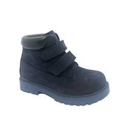 Ботинки для мальчика, цвет синий, на липучках