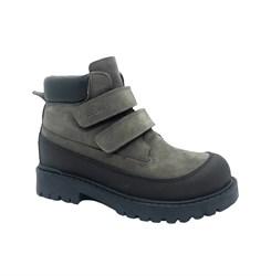Ботинки для мальчика, цвет серый, на липучках