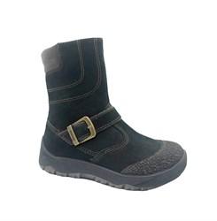 Ботинки для мальчика, цвет серый, молния