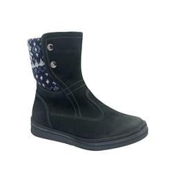 Ботинки для девочки, цвет серый, молния