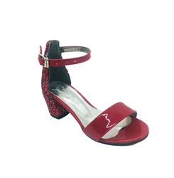 Туфли балетные, цвет красный