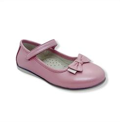 Туфли для девочки, цвет розовый, ремешок на липучке