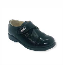 Туфли для мальчика, цвет: черный, из лаковой кожи