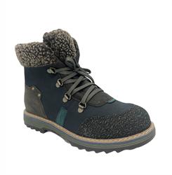 Ботинки деми, цвет коричневый, на шнурках