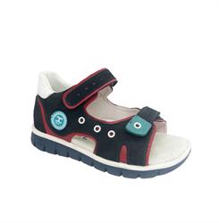 Сандалии для мальчика, цвет синий, в стиле sport, на липучках