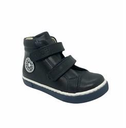 Ботинки-кеды демисезонные для мальчика, цвет синий, на липучках
