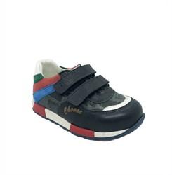 Кроссовки для мальчика, цвет синий, на липучках