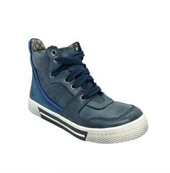 Ботинки - кеды для мальчика, цвет синий