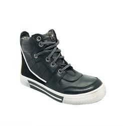 Ботинки - кеды для мальчика, цвет черный