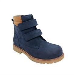 Ботинки для мальчика, демисезонные, цвет синий, на липучках