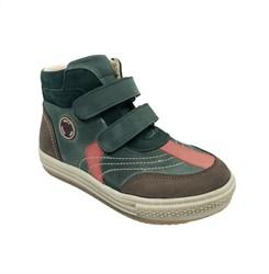 Ботинки - кеды CASUAL для мальчика, цвет хаки, на липучках