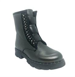 Ботинки демисезонные, цвет черный, регулирующие резинки