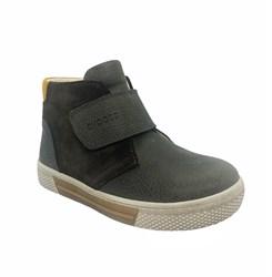 Ботинки для мальчика, цвет коричневый, на липучке