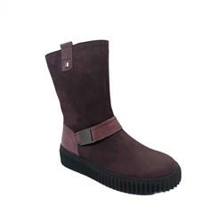 Ботинки для девушки, бордового цвета