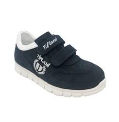 Кроссовки для мальчика, цвет темно-синий, на липучках