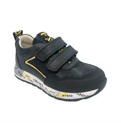 Кроссовки для мальчика, цвет черный, на липучках