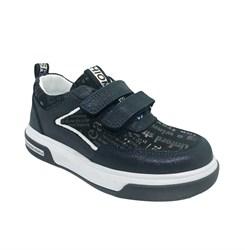 Кроссовки для мальчика/девочки, цвет темно-синий, на липучках