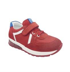 Кроссовки со светящейся подошвой для мальчика, цвет красный, декор.элементы