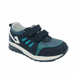 Кроссовки со светящейся подошвой, цвет: темно-синий, Арт-2026