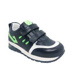 Кроссовки для мальчика, цвет темно-синий, со светящейся подошвой