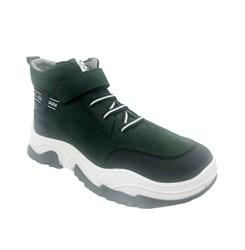 Ботинки демисезонные, цвет темно-зеленый