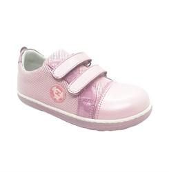 Кроссовки для девочки, цвет розовый, на липучках