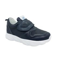 Кроссовки для девочки, цвет синий, на липучке